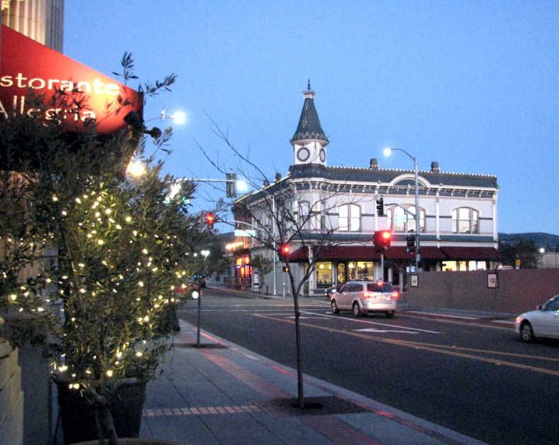 First Street, Napa, looking East