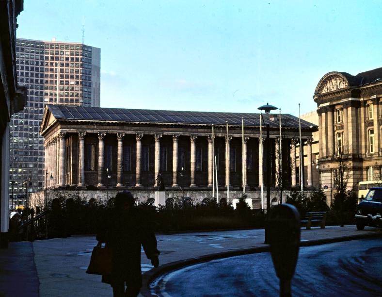 Birmingham Town Hall, January 1981