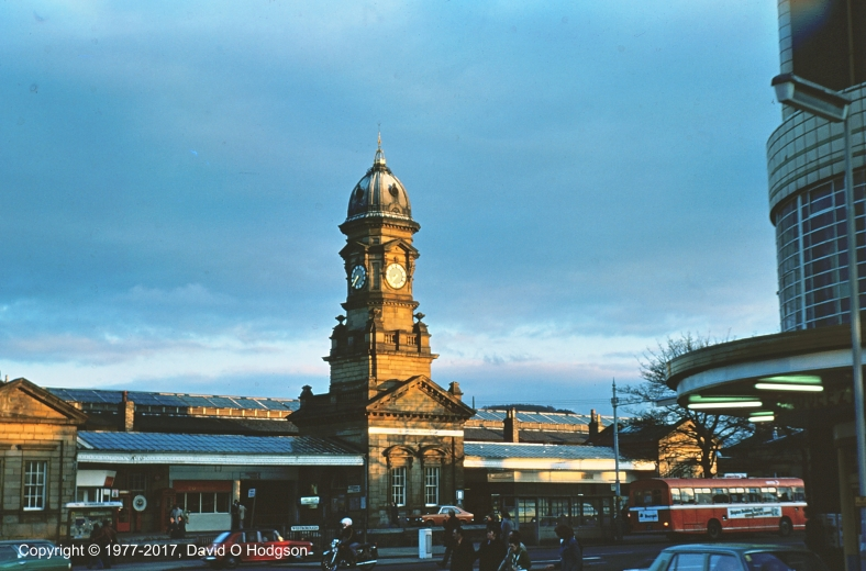 Scarborough Central Railway Station in 1977