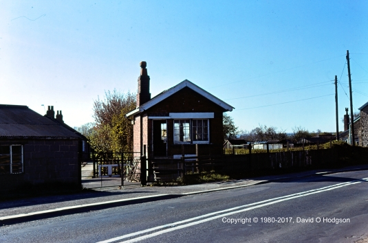 Eastgate Crossing Signal Box, from the East
