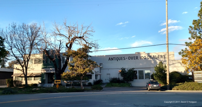 The Antiques Society premises in Sebastopol
