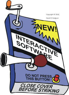 Interactive Gadget Cartoon