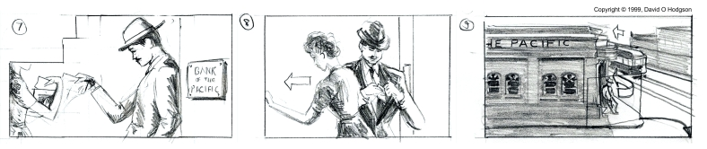 Excerpt from Storyboard strip, created at AFI