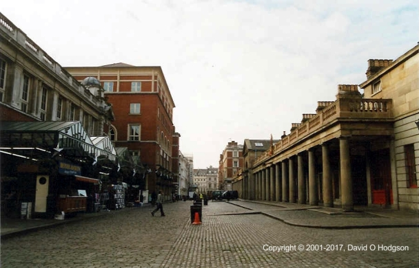 Covent Garden in 2001