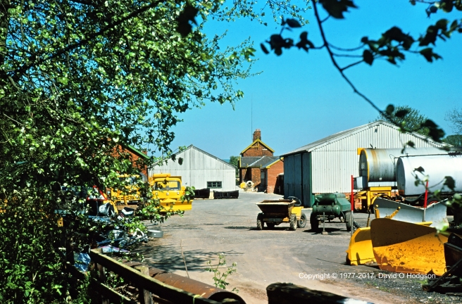 Forge Valley Station Yard, 1977