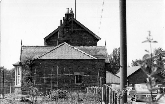 Forge Valley Station Building, 1977