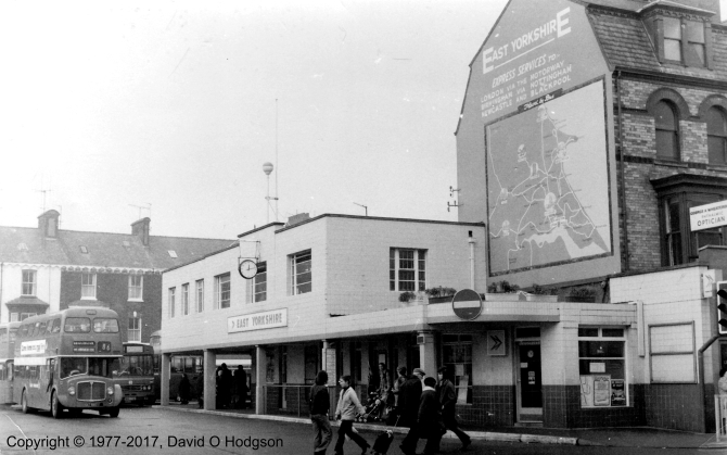 Bridlington Promenade Bus Station, 1977
