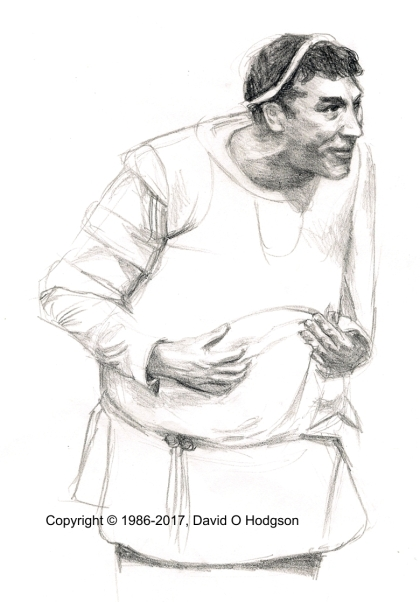 Frankie Howerd in a Funny Thing Happened on the Way to the Forum
