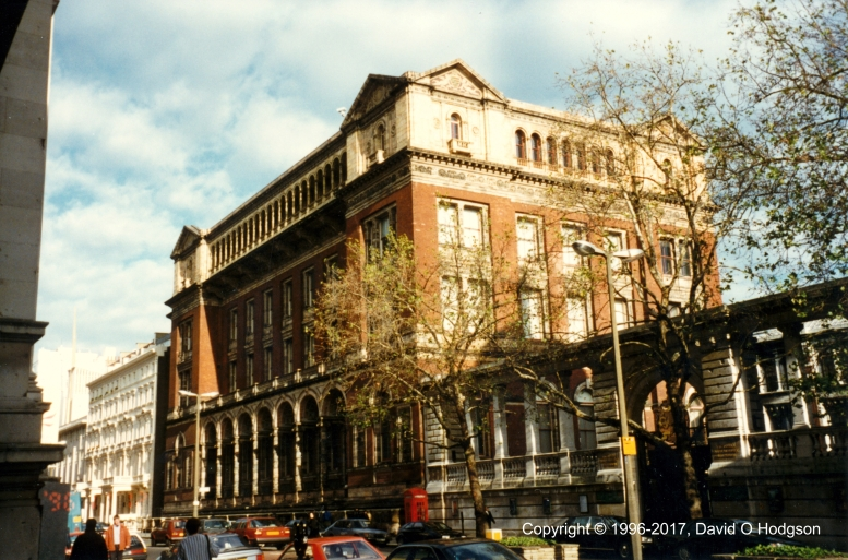 The original Imperial College: now the Henry Cole Wing of the Victoria & Albert Museum