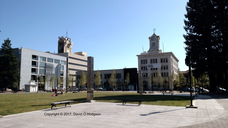 The Reunified Old Courthouse Square, Santa Rosa