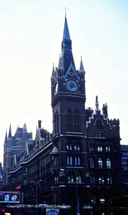 St. Pancras Station, 1981