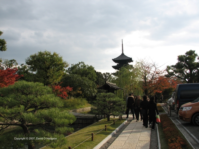 Toji Temple, Kyoto, 2007