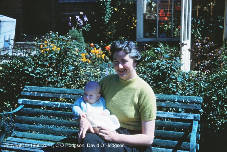 My Mother and Me, June 1960