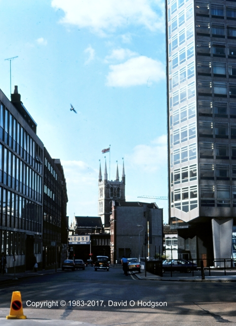 London Bridge Station & Southwark Cathedral, 1983