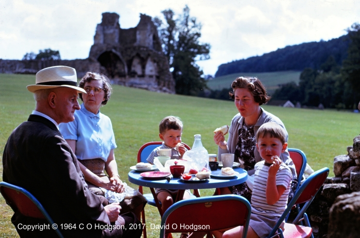 Picnic at Kirkham Priory, August 1964