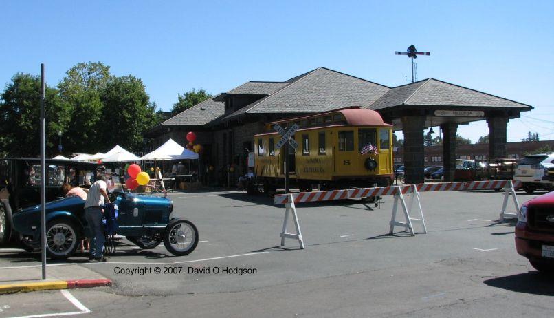 Santa Rosa NWP Depot, 2007
