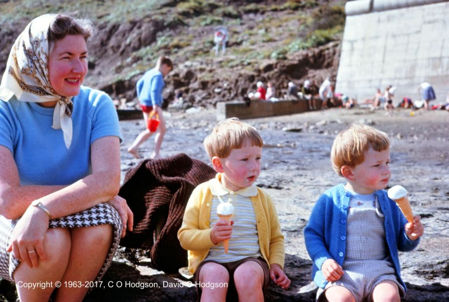 Ice Cream on Scarborough Beach, September 1963
