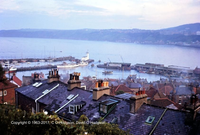 Scarborough Harbour, September 1963