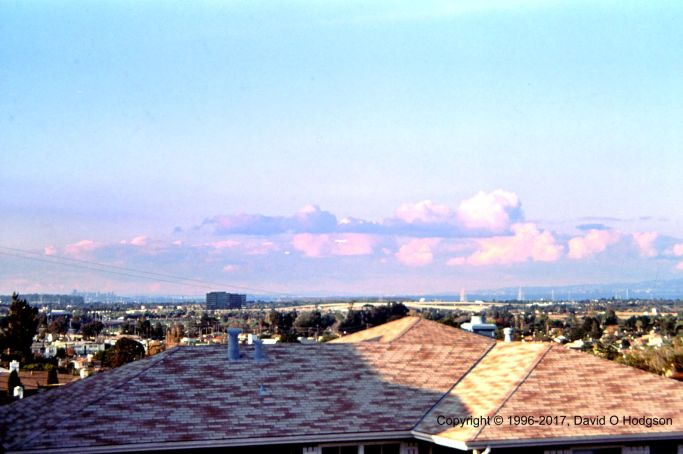 San Francisco Bay from San Mateo, 1996
