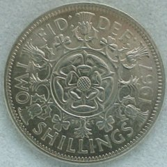 The Last British Florin Design