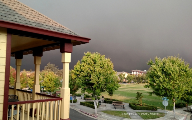 Clouds of Smoke over Santa Rosa