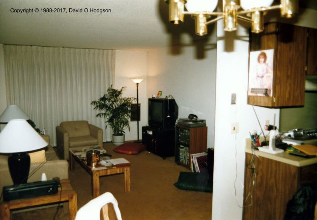 My Apartment in Foster City, 1988