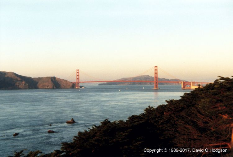 Golden Gate Bridge at Sunset