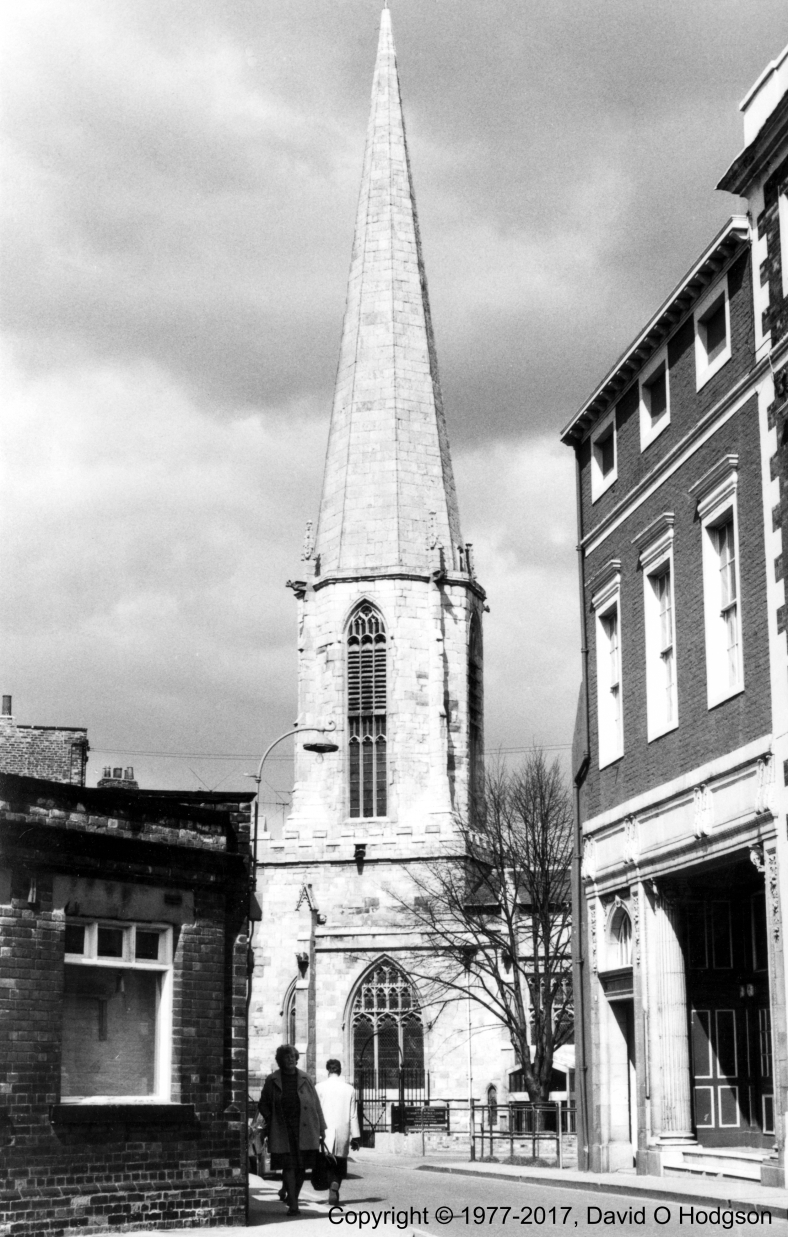 St. Mary's Church, Castlegate, York, in 1977