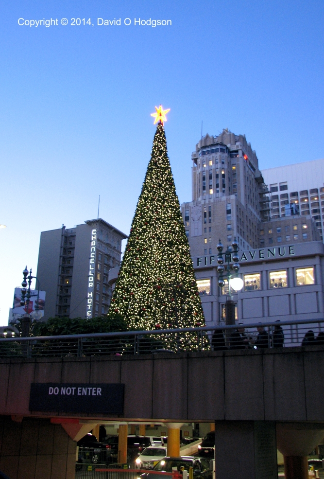 Union Square, San Francisco, At Christmas