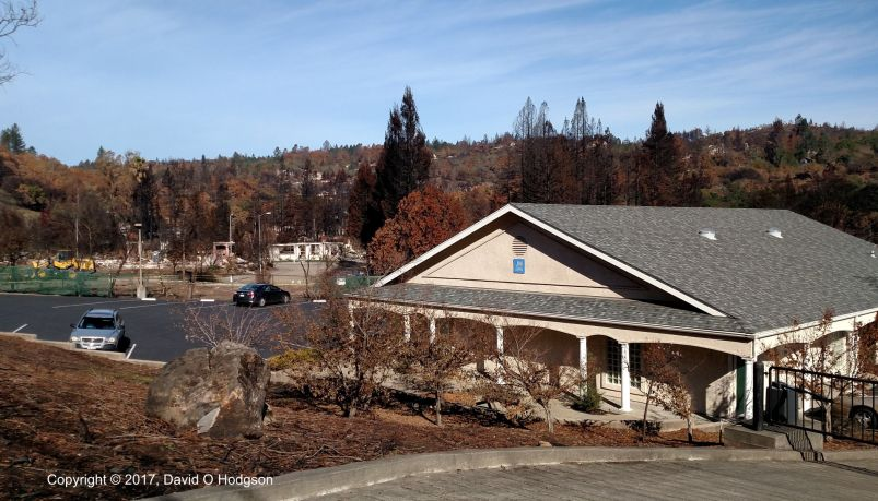 Jehovah's Witness Hall in Hidden Valley