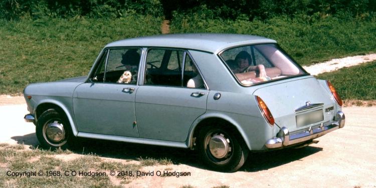 Our Austin 1100, c.1968