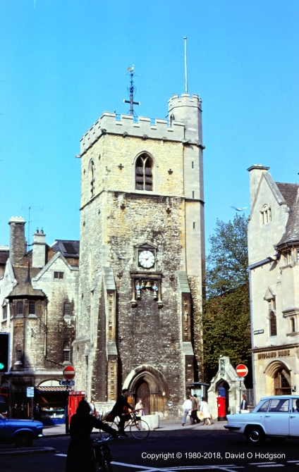 The Carfax Tower, Oxford, 1980