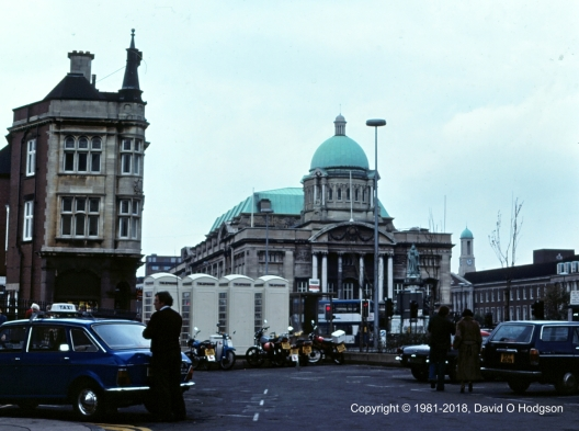 City Hall, Hull, in 1981