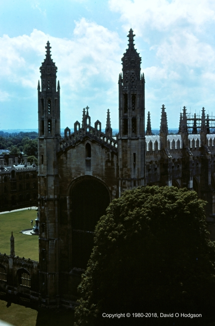 Chapel of Kings College, Cambridge, 1980