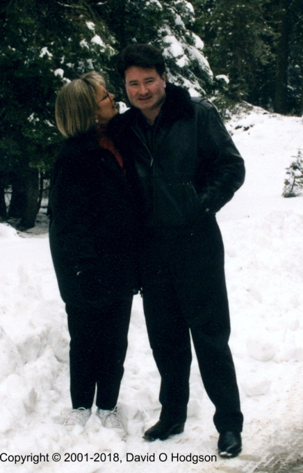 Mary and I in Yosemite, January 2001