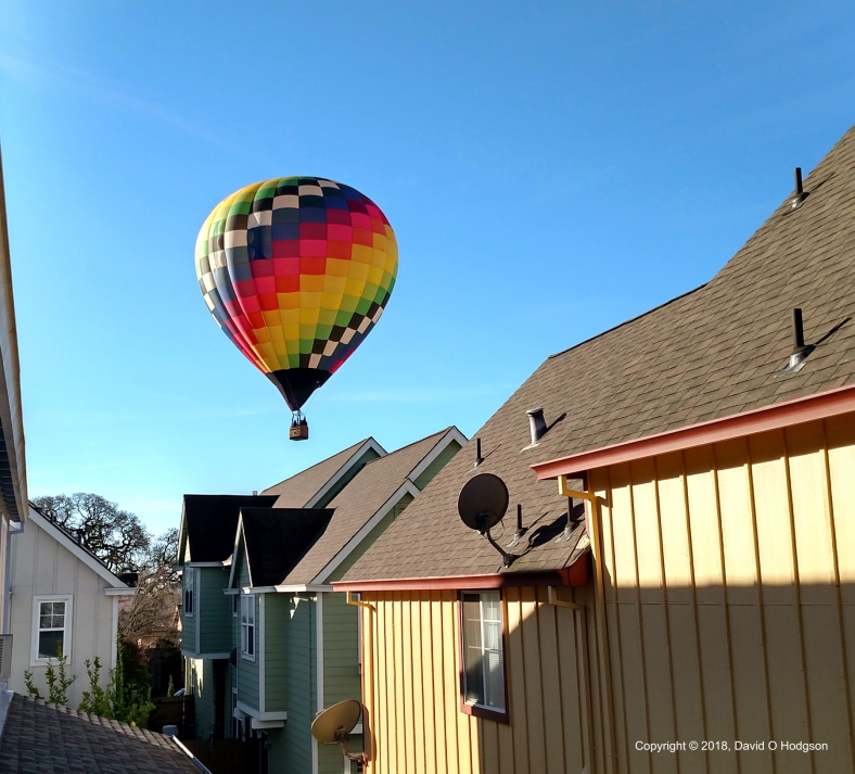 The Second Balloon between the Houses