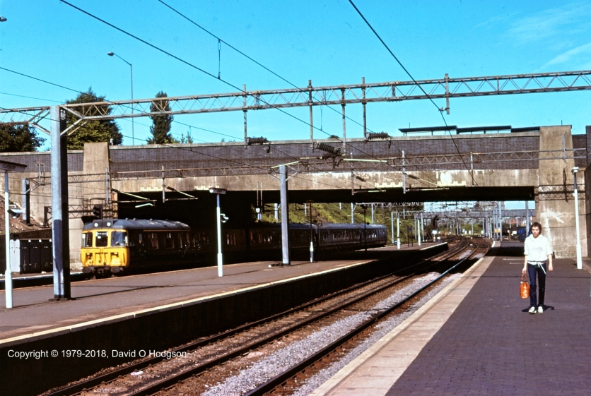 Coventry Railway Station 1979; scene of my luggage struggles
