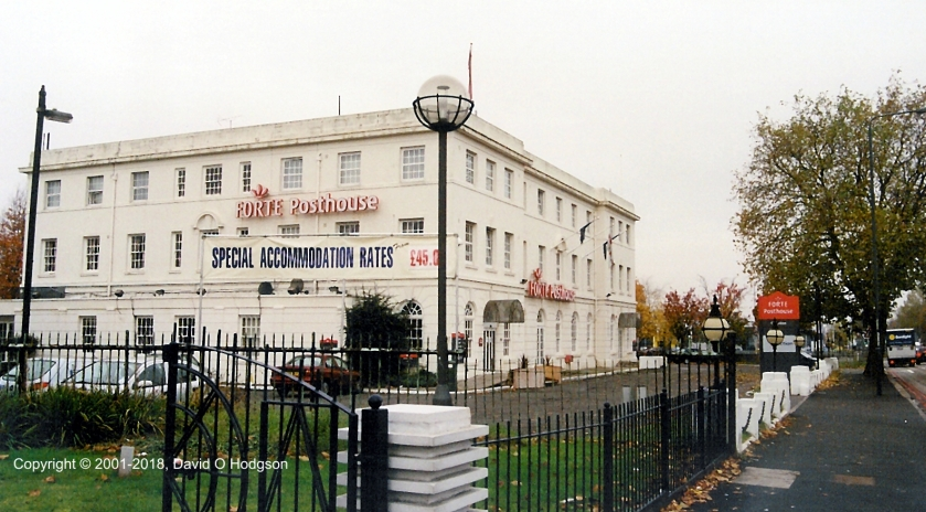 The Aerodrome Hotel in 2001