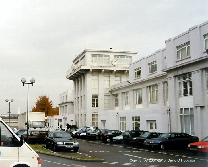 Control Tower and Former Apron of Croydon Airport