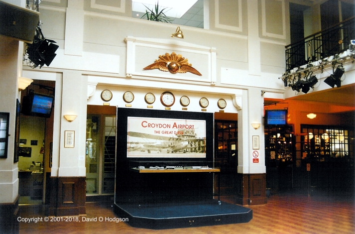 Lobby of Airport Terminal, in 2001