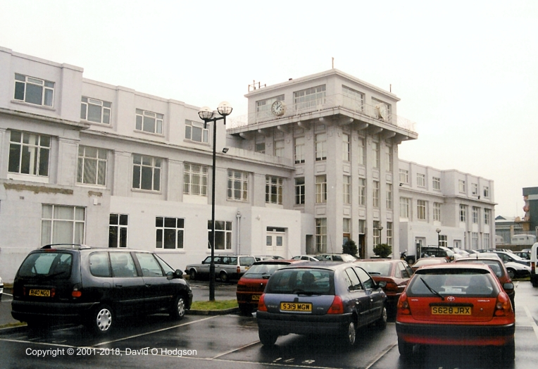 Croydon Airport on a Rainy Day, 2001