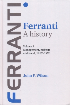 Cover of John Wilson's Book about the Demise of Ferranti
