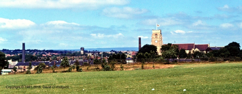 Panorama of Middleton, Manchester, 1981