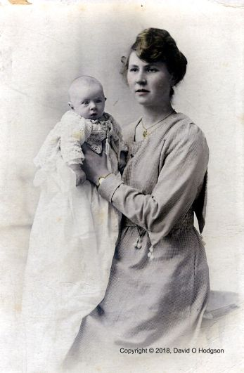 My Grandmother with Elvyn, c.1919