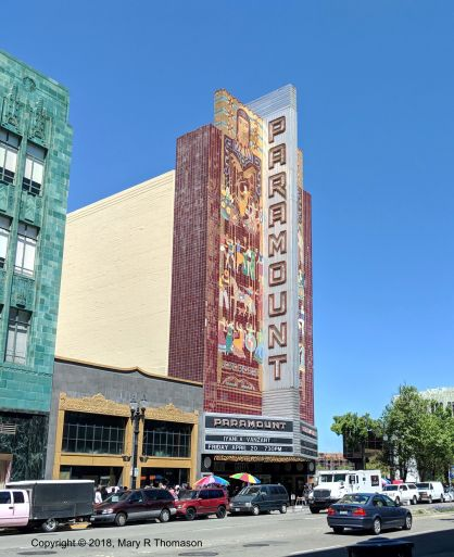 Exterior of the Paramount Theatre, Oakland