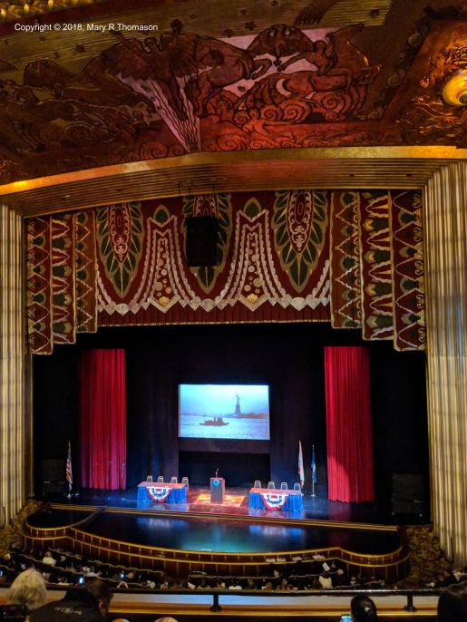 Stage of the Paramount Theatre, Oakland