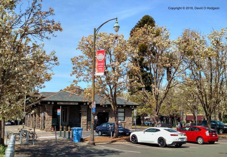 Former NWP Depot, Santa Rosa