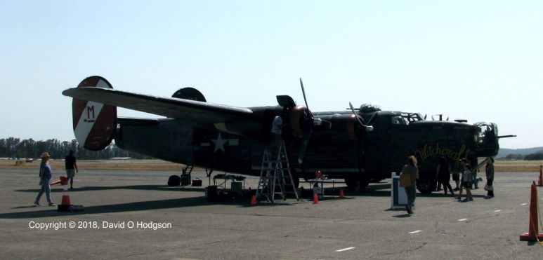 B-24 Liberator at Sonoma County Airport