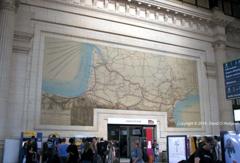 Chemins de fer du Midi, Bordeaux