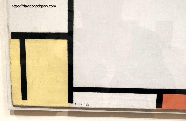 Mondrian's Initials